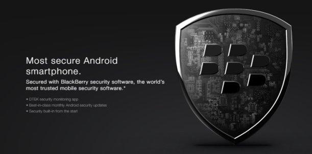Seguridad de Blackberry KEYone