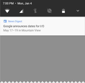 Notificaciones de Android Nougat