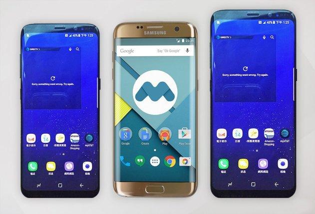 Comparamos el tamaño del Samsung Galaxy s8