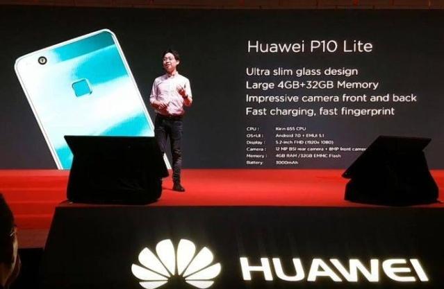 Presentación del Huawei P10 Lite