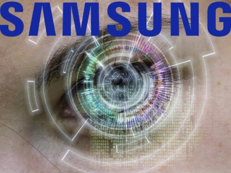 Lector de iris Samsung