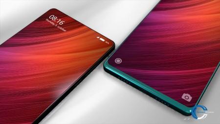 Nuevos renders del Xiaomi Mi Mix 2