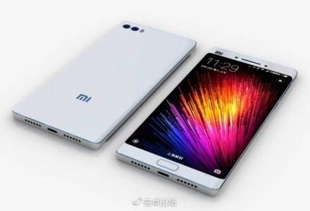Xiaomi Mi6 render