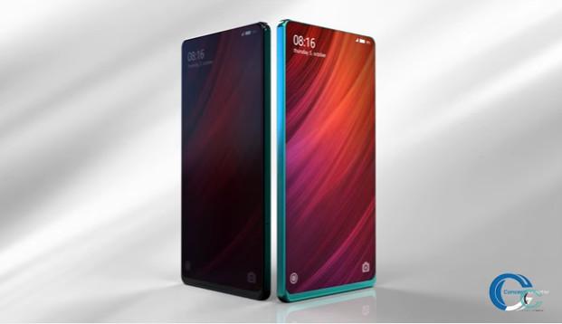 Diseño Xiaomi Mi Mix 2