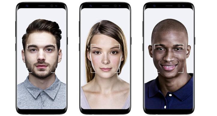 reconocimiento facial galaxy s8