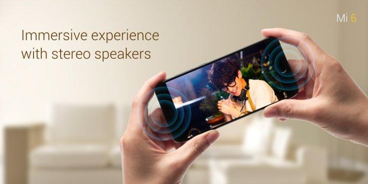 Doble altavoz estéreo Xiaomi Mi6