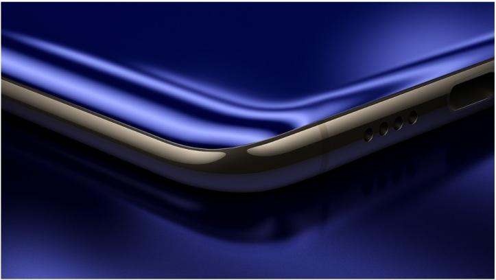 bordes laterales y altavoz del Xiaomi Mi6
