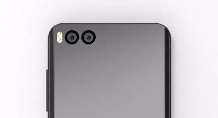 Diseño de la parte trasera del Xiaomi Mi6