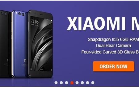 promoción Geekbuying Xiaomi Mi6